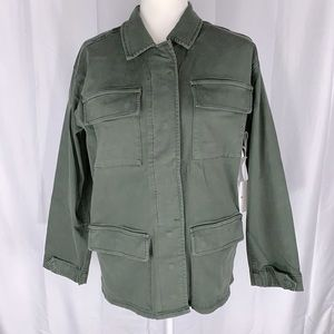 Good American Military Style Jacket Size 1